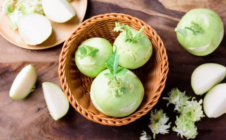 Kedlubna – křupavá zelenina, která zasytí a posílí imunitu